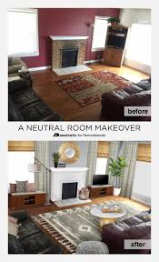 remodelaholic real life rooms neutral living room with a