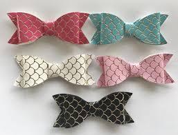mermaid ribbon mermaid bow princess miyah designs