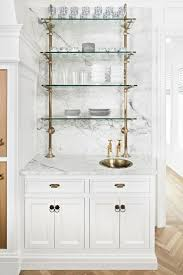 where to buy glass shelves for kitchen cabinets trending the new open shelving the identité collective