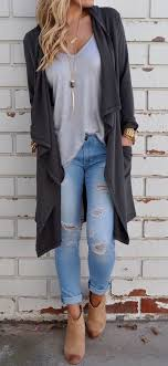 what to wear with light brown boots 23 stylish ripped jeans for winter styleoholic