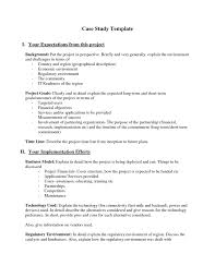 Apa Resume Template Business Case Study Template Business Case Study Examples Resume