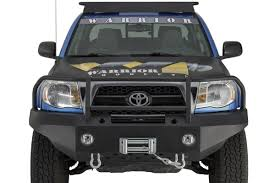 toyota tacoma front bumper guard front bumpers warrior products