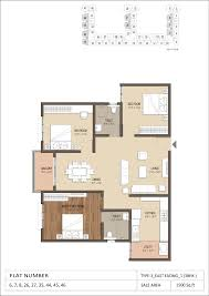 3bhk House Plans Master Plan And 2bhk And 3bhk Floor Plans Of Gtt E City B U0027lore