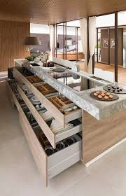 Cabinets For Kitchen Island by Best 25 Modern Kitchens Ideas On Pinterest Modern Kitchen