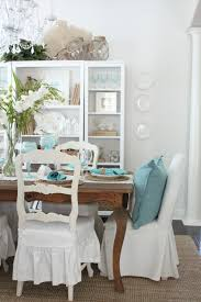 an early spring coastal style dining table starfish cottage