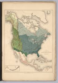 North America Map 1700 history of american forests tree maps made for 1884 census