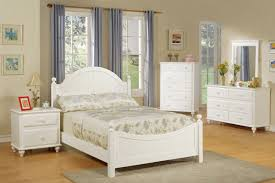 White Country Bedroom Furniture Country Style Youth Bed Set White Available In Twin And Full