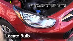 hyundai accent lights parking light change 2012 2016 hyundai accent 2013 hyundai