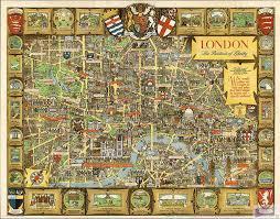 Home Decor Shops London Aliexpress Com Buy 70 55cm English Cartoon Antiqued London