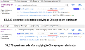 kill 17 000 craigslist apartment spam ads with one mouse click