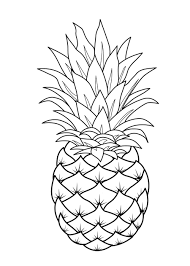 fruit coloring pages banana coloringstar