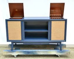 mid century record cabinet mid century record cabinet vintage media console update hearts mid