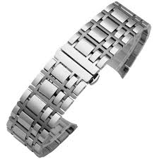 stainless steel bracelet strap images Free shipping 16 mm 20 mm stainless steel bracelet watch band jpg