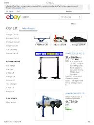 car lift ebay elevator e bay