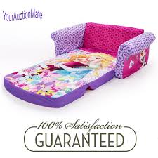 Doc Mcstuffins Sofa by Disney Frozen 2 In 1 Sofa Flip Open Lounger Marshmallow Bed Kids