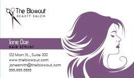 Business Card Template Online Free Hair Stylist U0026 Salon Business Cards Design Custom Business Cards