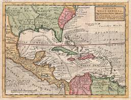 Central America And The Caribbean Map by Map Of The Caribbean Sea And Its Islands Caribbean And Caribbean Sea