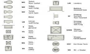 Electrical Floor Plan Symbols by Bathroom Flooring Floor Plan Bathroom Symbols Nice Home Design