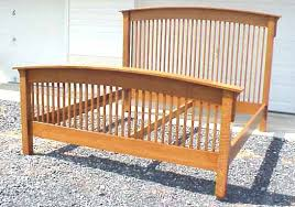 Wood Head And Footboards Beds