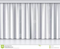 unique curtains white stage curtain stock vector image 52733707