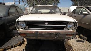 toyota california junkyard find 1977 toyota corolla two door sedan