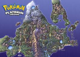 World Map Wallpaper Pokemon Platinum Wallpaper World Map 1600x1200 Jpg 1 600 1 140