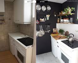 Before And After Kitchen Remodels by Diy Small Kitchen Remodel Before And After Our Kitchen Makeover