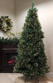 7 5 u0027 pre lit traditional mixed pine artificial christmas tree