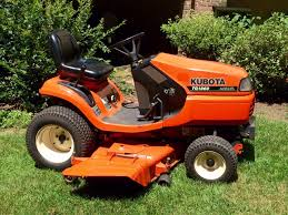 kubota tg1860 diesel lawn garden tractor start up u0026 blades engaged