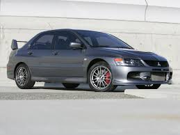 grey mitsubishi lancer mitsubishi lancer evolution ix se 2006 pictures information