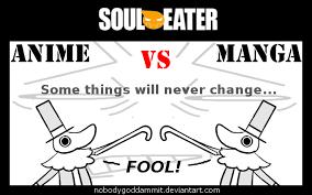 Excalibur Meme - soul eater anime vs manga excalibur by nobodygoddammit on