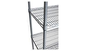 5 Tier Wire Shelving by 5 Tier Outdoor Wire Shelving Rack With Wheels Groupon