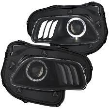 jeep black headlights new jeep cherokee kl led halo headlights 2014 jeep