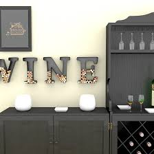Decorative Letters For Walls Metal Wine Wall Decor Letters Cork Holder Top Reviews Best
