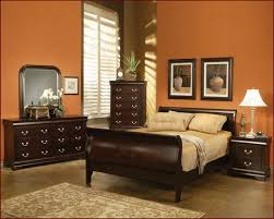 bedroom paint colors with dark brown furniture image on awesome