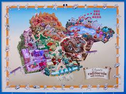 map of california adventure expansion map for disney s california adventure park flickr