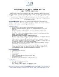 resume sles with no work experience collection of solutions resume for sales associate with little