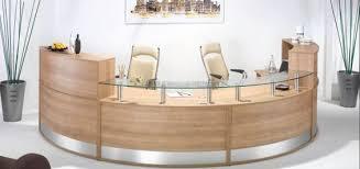 Reception Station Desk Vaughan Office Furniturehalf Moon Reception Station Vaughan