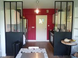 cloison vitree cuisine salon chambre cloison vitree cuisine salon cuisine lineaire ilot cusine