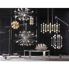 Chandeliers Modern Meurice Rectangle Chandelier Modern Lighting Jonathan Adler