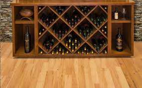 wine cellar racking displays for commercial establishments in san