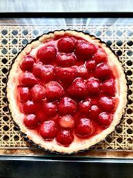 homemade strawberry cream cheese tart yummy pinterest