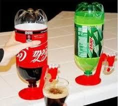 bureau invers coke potable fontaine portable gadgets maison cuisine bouteille
