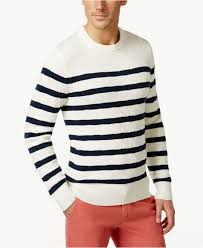 hilfiger sweater mens lyst hilfiger s aloha striped sweater in blue for
