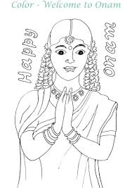onam colouring pages coloring pages