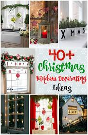 christmas window decorations 40 stunning christmas window decorations ideas all about christmas