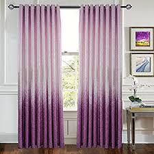 Pink And Purple Curtains Amazon Com Curtains Purple Lavender Flower Drapes Anady 2 Panel