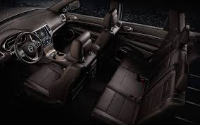 Jeep Grand Cherokee Overland Interior Go Green In The 2015 Jeep Grand Cherokee Stampede Dodge Chrysler