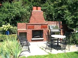 outdoor fireplace designs for small spaces small yard that still