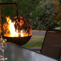 Sphere Fire Pit by Spherical Fire Pit U2013 Whipps Designs